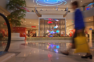 ghost at the mall