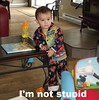 I'm not stupid - meme (franky279) Tags: stupid kids always right what you looking meme