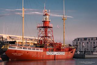 Lichtschip 12 Noord-Hinder (anno 1963) - Hellevoetsluis/NL