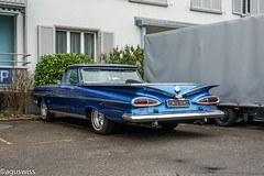 Chevrolet ElCamino (aguswiss1) Tags: supercar musclecar flickrcar usmusclecar dreamcar amazingcar uscar chevrolet exoticcar auto carspotting flickr hillclimb classiccar sportscar carporn carswithoutlimits 1959 fastcar elcamino carlover car impala
