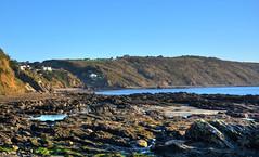 Rock pools at East Looe, Cornwall (Baz Richardson (catching up again!)) Tags: cornwall eastlooe plaidy rockpools millendreath bodiggacliff