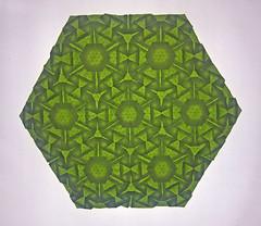 Hurricane tessellation (mganans) Tags: origami tessellation