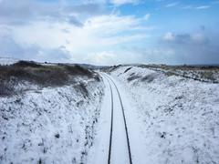 Snow in Lelant