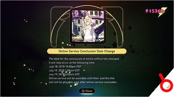 《重力異想世界2》在線服務在7月18日關閉