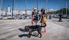 20170831-DSCF2103 Summer in La Rochelle (susi luard 2012) Tags: france larochelle black couple dog haired hound long people