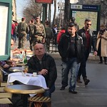 Paris France - Street Capture - Expresso and Beer  and Cigarette thumbnail