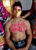 IMG_9901 (danimaniacs) Tags: shirtless hunk man guy chicosangels dukeshoman diadelosmuertos dayofthedead torso muscles pecs makeup