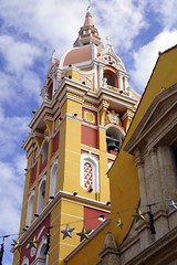 a beautiful church (Suzanne's stream) Tags: cartagena colombia southamerica church kirche altstadt oldcity südamerika