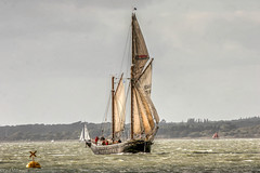 Return of Queen Galadriel (oxfordwight) Tags: queen galadriel cirdan trust iow sailing tall ship sail restored