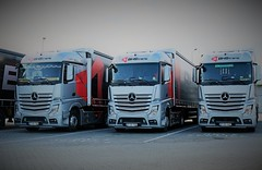 Mercedes Actros - BHS Trans (HU) (pepictures) Tags: lkw truck silver szikszó hell triple