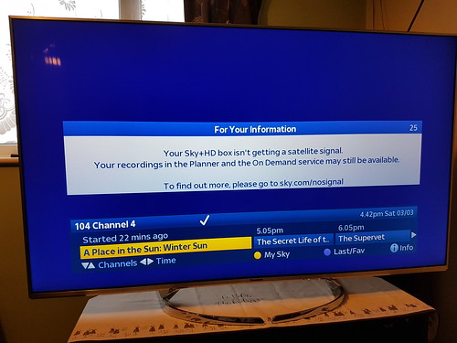 How to fix A Sky or freesat satellite dish with no signal or missing
