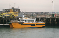 Windcat 6 at Newhaven. (steve vallance coach and bus) Tags: windcat6 windcatworkboats newhaven