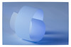 """White Paper"" _ MacroMondays _ Monochrome (Werner D.) Tags: details depthoffield dof tiefenschärfe blue blau macro macromondays monochrome paper papier"