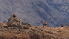 Piles of rocks (Steenjep) Tags: madeira portugal ferie holiday urlaub pontadesãolourenço landscape earth ground rock cliff sea ocean