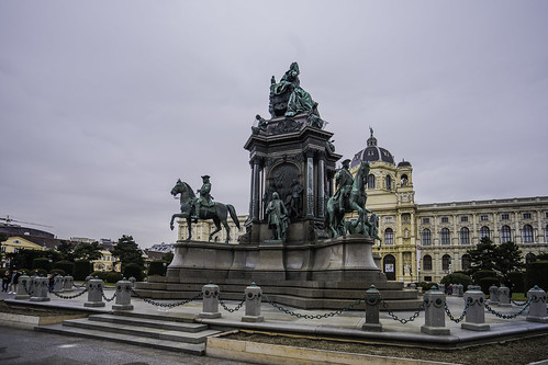 The Maria-Theresien-Denkmal
