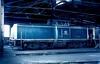 212 058  Hanau  13.04.84 (w. + h. brutzer) Tags: hanau eisenbahn eisenbahnen train trains deutschland germany diesellok dieselloks railway lokomotive locomotive zug 212 214 714 db v100 webru analog niko