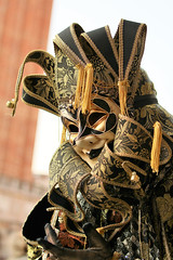 Maschera (Roby_BG) Tags: carnival venice carnaval carnevale venezia venedig maschera mask cappello hat