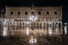 Wet Venice (Jacob Surland) Tags: antiquebuilding architecture art building caughtinpixels city citybynight cityscape clouds country evening fineart fineartphotography geometry glow goldenlight hdr highdynamicrange house italy jacobsurland light lights lines night oldhouse oldbuilding piazza piazzasanmarco pillars realismdigitalart time venezia venice warmlight