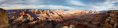 hopi point (almostsummersky) Tags: horizon rockformation desert overlook canyon nationalpark panorama rocks southrim hopipoint grandcanyon sandstone northrim clouds grandcanyonnationalpark sky arizona winter cliff edge hermitroad