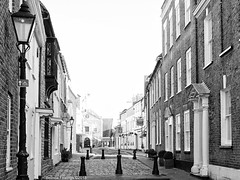 Old Town Poole (Belinda Fewings (3 million views. Thank You)) Tags: belindafewings sonydschx400v bokeh city street seaside colour artistic pbwa creative arty beautiful beautify beauty lovely outdoors outside best depthoffield garden color colors interesting interest poole blackandwhite bw mono