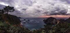 Silench beach II (lrfraile1) Tags: sea seascape landscape filter longexposure lucroit panoramic asturias lafphotograpy ngc