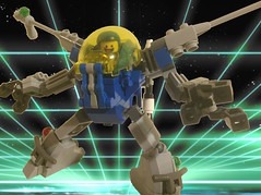 Star Suit (Danth1) Tags: lego space neoclassicspace classicspace legospace mecha mech powersuit