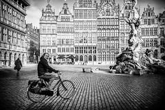 The bicycle is a curious vehicle. Its passenger is its engine. - John Howard (ercan.cetin) Tags: the bicycle is curious vehicle its passenger john howard siyahbeyaz blackandwhite blackwhite flickr antwerp antwerpen belgien belgium streetphotography strassenfotografie street strassenfoto siyah