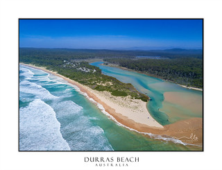 Durras Lake Inlet and Durras Beach