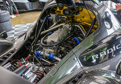A tight fit (Jez B) Tags: goodwoodfestival speed 2017 17 hill climb race racing competition motor car auto sport motorsport historic classic super supercar radical ford ecoboost engine