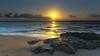 Sunrise Seascape (Merrillie) Tags: daybreak landscape nature dawn waterscape water newsouthwales clouds earlymorning nsw toowoonbay beach ocean sunrise sky rocks coastal sea outdoors seascape morning coast centralcoast australia