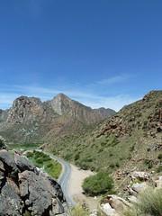 Above tunnel near Montagu, Western Cape