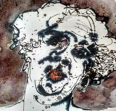 (Happy Sketcher) Tags: penandink ink people blackandwhite faces heads