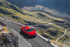 Heaven (Nico K. Photography) Tags: lamborghini huracán lp5802 red bull photoshooting alps nicokphotography supercars italy passo di gavia