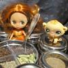 BaD 25 February 2018: Spice Up Your Life (jefalump) Tags: colorfullycuteindiaorangesaristyle lpspetiteblythe monkey littlestpetshop spices curry orange animal doll portrait