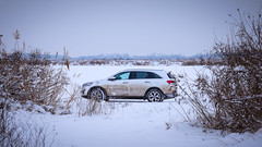 In the middle of nowhere (nikita-a1) Tags: kia car snow winter