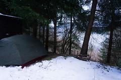 Camping at Lake Millstatt