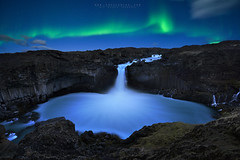 Magic nature (FredConcha) Tags: aurora northernlights night stars iceland waterfall landscape nature fredconcha 1424 nikond800 seljalandsfoss rocks volcanic cliffs