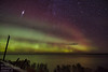 Satellite Party (Winglet Photography) Tags: wingletphotography northernlights auroraborealis georgewidener stockphoto solarstorm aurora geomagnetic earth sun wisconsin canon 7d storm solar georgerwidener night nighttime longexposure dark inspiration lights colors sky nature heclaisland manitoba canada gullharbour provincialpark