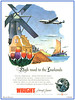 Constellation - Wright  High road to the Lowlands  1946 (StarRunn) Tags: lockheed constellation curtisswright aircraftengines airliner aviation advertising