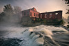Shipwreck (sxmb) Tags: darktable d7100 gimp waterfall brick shipwreck morning sunrise mist dogwood52 dogwood2017 dogwood52week39
