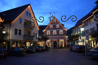parking lot in Oberkirch