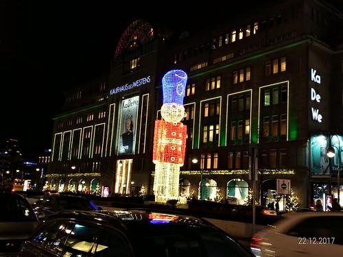 Berlim no Natal 2017 / 2018, kurfürstendamm