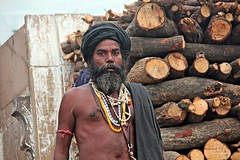 (claudiophoto) Tags: india indiatravel varanasi ngc benares sadhu protrait