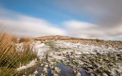 The great hill... (Lee~Harris) Tags: landscape longexposure sky cloud grass snow moor moorland outdoor walking winter lancashire rivington hill serene tranquil contrast lens g80