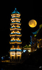 New York's Moon in China (jgaosb) Tags: ancient phoenix city new york moon