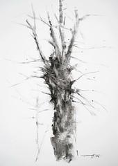 P1017767 (Gasheh) Tags: art painting drawing sketch tree trees charcoal gasheh 2018