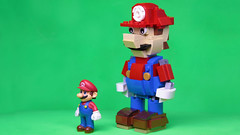 Lego Mario MOC (hachiroku24) Tags: lego mario moc nintendo afol figure