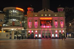 Liverpool Playhouse (James O'Hanlon) Tags: red building lit up liverpool chinese new year 2018 playhouse