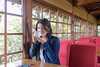 High-teen girl drinking Japanese tea in the morning (Apricot Cafe) Tags: img28881 asia asianandindianethnicities cafe healthylifestyle japan japaneseethnicity kyotocity kyotoprefecture sigma35mmf14dghsmart casualclothing charming cheerful day drinking enjoyment freedom greencolor greentea happiness indoors lifestyles morning nature oneperson onlywomen photography refreshment relaxation restaurant sitting smiling springtime sunlight table tea teenager waistup weekendactivities window women youngadult kyōtoshi kyōtofu jp