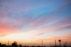 Sunset Sky (Simply Captured Moments) Tags: sunset light blue beautiful arizona palm trees sonly alpha adventure warm holiday
